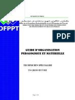 Guide d'Organisation Pédagogique Et Matérielle Btp-tsgo1 - Www.ofppt-Ofppt.blogspot.com