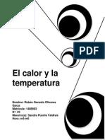 El Calor y La Temperatura5 de Abril