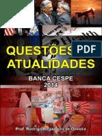 Atualidades - Exercícios CESPE 2014