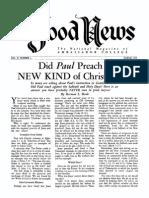 Good News 1952 (Vol II No 03) Mar