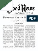Good News 1955 (Vol v No 01) Jan