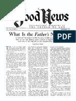 Good News 1959 (Vol VIII No 09) Sep