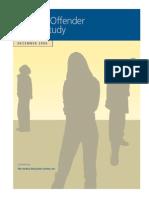 Juvenile Offender Profile Study December 2006
