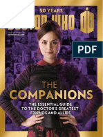 Doctor Who 50 Years 02 - The Companions