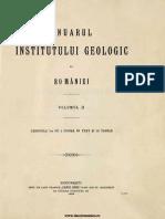 Anuarul Institutului Geologic Al României, Volumul 02, Fascicula 1