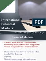 Intl Fin Markets