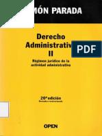 Derecho Administrativo Tomo II