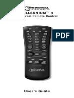 Shaw TV Universal Remote User Guide