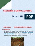 Geotecnia y Medio Ambiente 1
