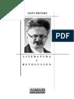 Leon Trotsky Literatura y Revolucion.pdf