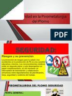Seguridad en La Pirometalurgia Del Plomo