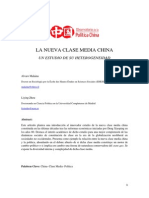 La Nueva Clase Media China
