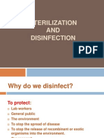 Sterilization and Desinfection
