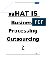 Business Processing Outsourcing ?