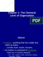 Ch 2 - Chemistry of Life 2013