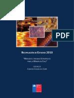 Mercados e Insumos Etrategicos Para La Mineria en Chile