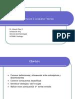 Antisépticos y Desinfectantes (Presentación)