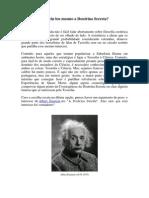 Einstein Leu Mesmo a Doutrina Secreta?