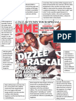Cover Analysis NME