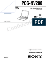 Pcg-nv290 VAIO Service Manual