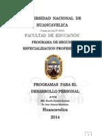 Afe-402-2012 Programas Para El Desarrollo Personal