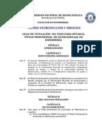 Reglamento Titulacion via Tesis 2013