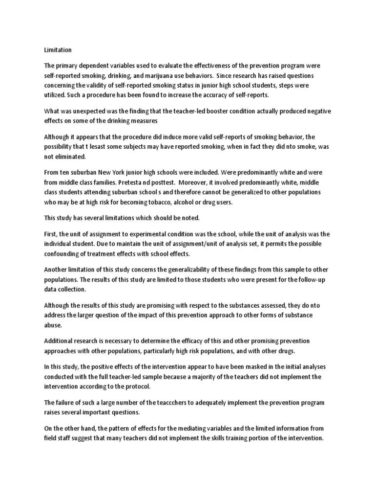 Limitation in school closure | Confounding | Risk