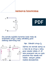 Tevenenova Teorema