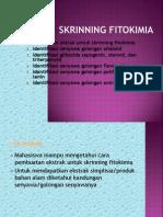 Skrinning fitokimia