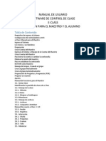 Manual de Usuario E-class Teacher