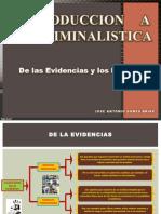 JOSE GOMEZ ARIAS.- Las Evidencias y Los Indicios