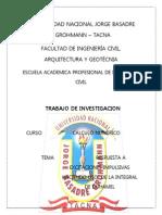 Trabajo Integral de Duhamel