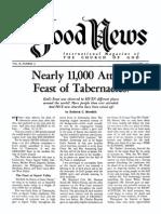 Good News 1961 (Vol X No 11) Nov