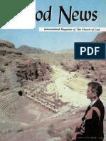 Good News 1966 (Vol XV No 10-11) Oct-Nov