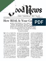 Good News 1962 (Vol XI No 11) Nov