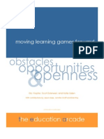 Moving Learning Games Forward