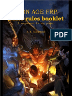 Iron Age FRP Basic Rules