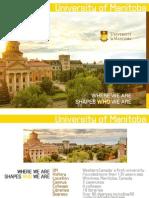 university of manitoba english