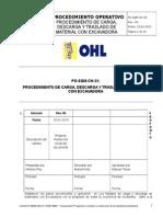 PETS-OHL-PO-SQM-CH-55 Procedimiento de Carga, Descarga y Traslado de Material Con EXCAVADORA