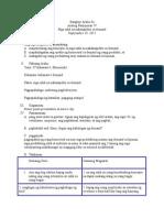 Lesson Plan Araling Panlipunan (sample)