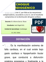 Choque Cardiogénico_José Ángel MG