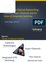 Advances in Optical Networking in Coherent, Super-Channels and the Value of Integrated Switching