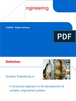 Systems Engineering Described