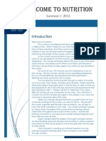 nutrition - distanced eduation syllabus - sample