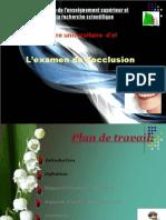 Examen de l'Occlusion-2