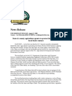 Hickory Nut Gap News Release