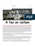 Ground Zero - In the Wake of the Elections Put a Price on Carbon
