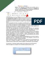 Procesadores de Texto (Dyanara)