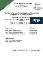 Proyecto de Aprendizaje 2 (de Consumo) Equipo Los Garrotudos