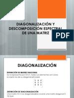 Diagonalización y Descomposición Espectral de Una Matriz